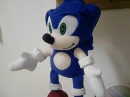 Sonic The Hedgehog (Toy) by SilvarEnO