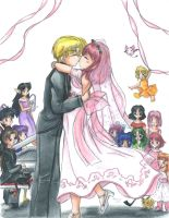 Ryou and Ichigo - The Wedding by ellana