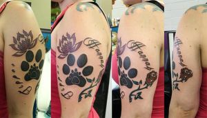 Hannah and Tipper Tribute Tattoo by Saphira87