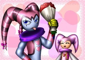 Creepy Valentine's Day pic XD by raikoufighter