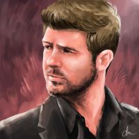 Robin Thicke by WindCyclone