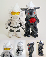Halo wedding topper by Blackash