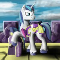 Arttrade: Shining Armor (for Seers45) by AleXandrYuZ