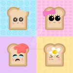 happy toast - wallpaper by LadyMascara