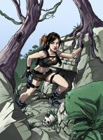 Tomb Raider by MechaBennett