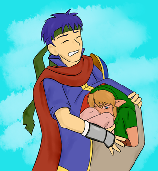 [vore] Ike and Link by lycovore