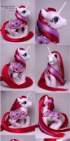 Moondancer custom pony by Woosie