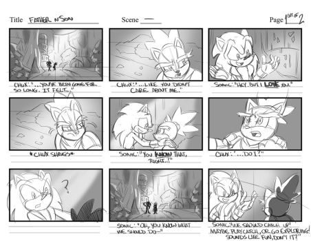 Storyboard Practice: Father and Son (1 of 2) by Chauvels
