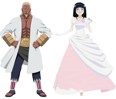 Raikage A Marrying Hinata by Andresempe