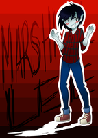 AT - Marshall Lee SPEEDPAINT by FrostedAlibi