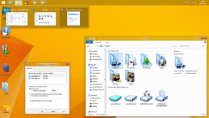 Windows 8.1 aero glass theme preview by Robi450