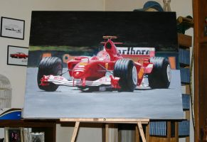 Ferrari F1 Wip7 by Z-Vincent