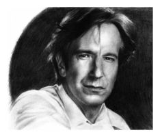 Alan Rickman by Fjant