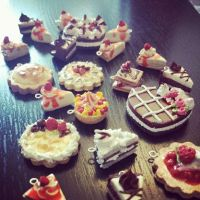 Dessert Charms by Rins-ArtStudio