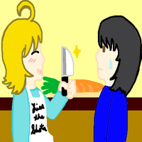 Soraru and Ren in the Kitchen by PacificIslanderGirl