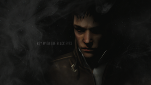 Boy with the black eyes by FromSilentHeaven