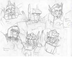 Random TFOC Head Sketches by beamer