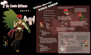 Eddie Cross -TCE ref sheet by Brettdagirl