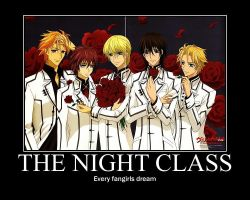 Vampire Knight Motivational Poster by SilverBlade234