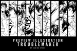 Preview to Troublemaker - GMO Project by xiannustudio