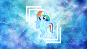 The Rainbow Dash . 2560 x 1440 HD Wallpaper by sHAAkurAs
