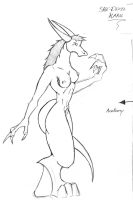 sketch-9 (Karu Anatomy Unclothed) by BlueDraken
