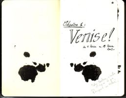 Venice sketch book 1 by JulienHB