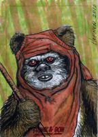 Wicket Exlusive Sketch CArd by HalHefnerART