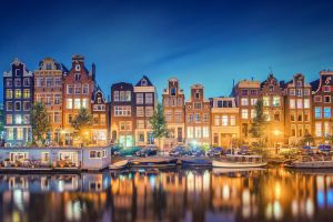 Amsterdam Reflections by Matthias-Haker