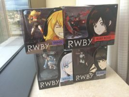 RWBY Figures! by NERU101