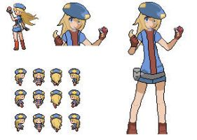 Pokemon shining wish female protagonist WIP by Omega9898