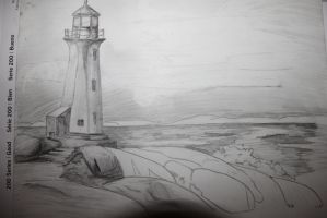 Lighthouse by AStolenRelic
