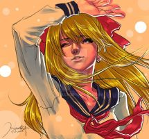 Sailor Venus by HankBull