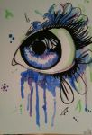 Watercolour Eye by EveKudo