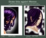 Sorrow Light | Draw this again! Meme by ayien-chan