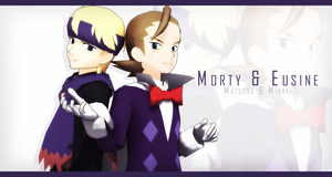 _MMD_ Morty and Eusine by xXHIMRXx