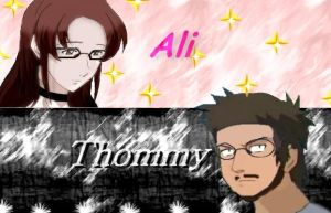 Ali and Thommy in manga style by Cellas