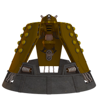 Dalek Emperor Render Pack by cgartiste