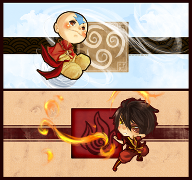 Avatar Chibi Time by Kinosthetic