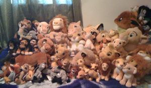 The Lion King Collection 2012 by Eevee-Kins