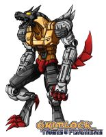 Primal Grimlock by Wegons