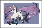 Galaxy pony [AUCTION] paypal/points [CLOSED] by BlackFreya