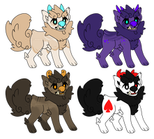 Fuu dog adoptebles {paypal} 1/4 by LoserDoge