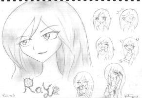 OCs: Ray by firehorse6