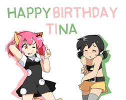 Happy Birthday Tina by OfficialChii24