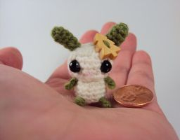 Button Bunny - Fir the Woodland Bunny by altearithe