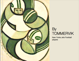 NY JETS FOOTBALL by TOMMERVIK