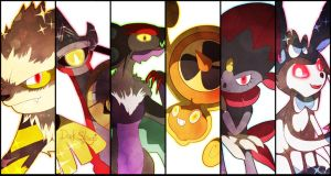 Battle Cuts - XY .Team. by Dark-Strings