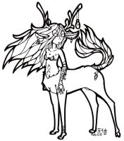 """Forest Winds """"Inked"""" by howling00greywolf"""