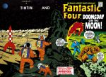 What if FF and Tintin meets on the moon ? by shockingrom
